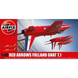 A05124 Red Arrows Gnat repülő makett Airfix