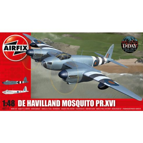 A07112 De Havilland Mosquito PR.XVI repülő makett Airfix