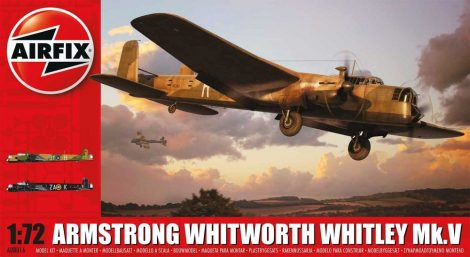 Airfix Armstrong Whitworth Whitley Mk.V repülő makett A08016