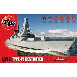 Type 45 Destroyer hajó makett A12203