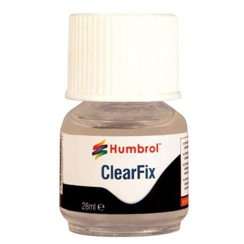 Humbrol Clearfix makett ragasztó átlátszó felületek ragasztásához 28ML AC5708