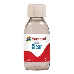 AC7435 Humbrol Satin Clear 125ml Bottle
