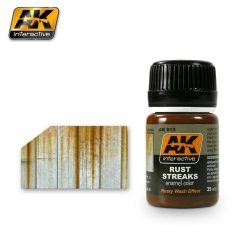 AK-Interactive RUST STREAKS (Rozsda effekt) AK013