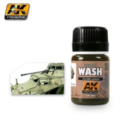 AK-Interactive WASH FOR AFRIKA KORPS VEHICLES (Átmosó Afrika Korps járművekhez) AK066