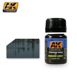 AK-Interactive STREAKING GRIME FOR PANZER GREY VEHICLES AK069