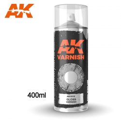 AK-Interactive Gloss Varnish Spray 400 ml AK1012