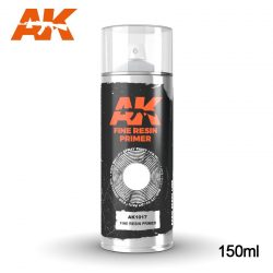 AK-Interactive Fine Resin Primer Spray 150 ml AK1017