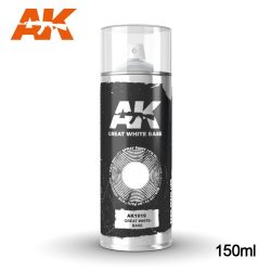 AK-Interactive Greath White Base Spray 150 ml AK1019
