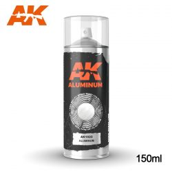 AK-Interactive Aluminium Spray 150 ml AK1022