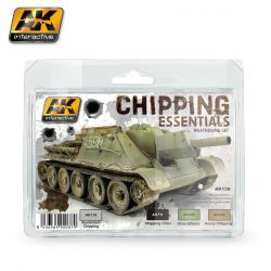 AK-Interactive CHIPPING ESSENTIALS WEATHERING SET AK138
