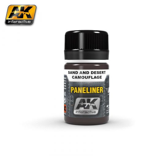 AK-Interactive PANELINER FOR SAND AND DESERT CAMOUFLAGE AK2073