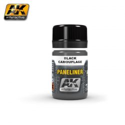 AK-Interactive PANELINER FOR BLACK CAMOUFLAGE AK2075