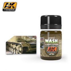 AK-Interactive WASH FOR DARK YELLOW VEHICLES AK300