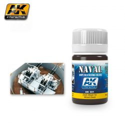 AK-Interactive DARK WASH FOR WOOD DECKS AK301