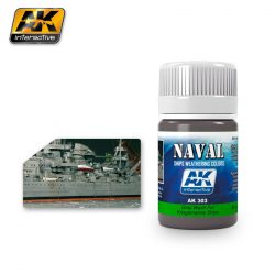 AK-Interactive GREY WASH FOR KRIEGSMARINE SHIPS  AK303