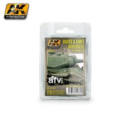 AK-Interactive DUST AND DIRT DEPOSITS WEATHERING SET AK4060