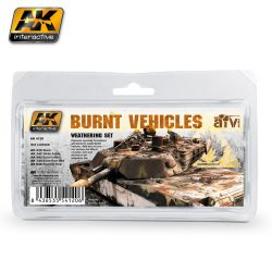 AK-Interactive BURNT VEHICLES SET AK4120