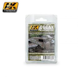 AK-Interactive DECAY & ABANDONED WEATHERING SET AK4180