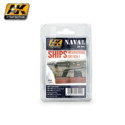 AK-Interactive SHIPS VOL.1 WEATHERING SET  AK555