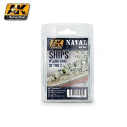 AK-Interactive SHIPS VOL.2 WEATHERING SET AK556