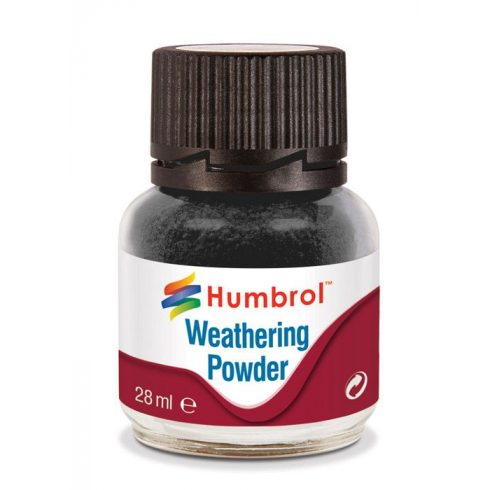 Humbrol AV0001 Weathering Powder Black 28ml