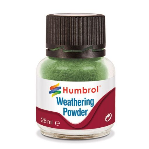 Humbrol AV0005 Weathering Powder Chrome Oxide Green 28ml
