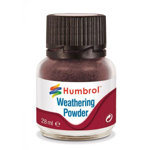 Humbrol AV0007 Weathering Powder Dark Earth 28ml