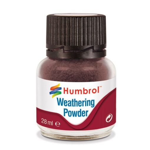 Humbrol AV0007 Weathering Powder Dark Earth 28ml