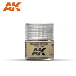 AK-Interactive Real Colors  Russian Greyish Yellow 10ml akril festék RC099