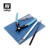 Vallejo Szerszám készlet (Plastic Modelling Tool set) T11001