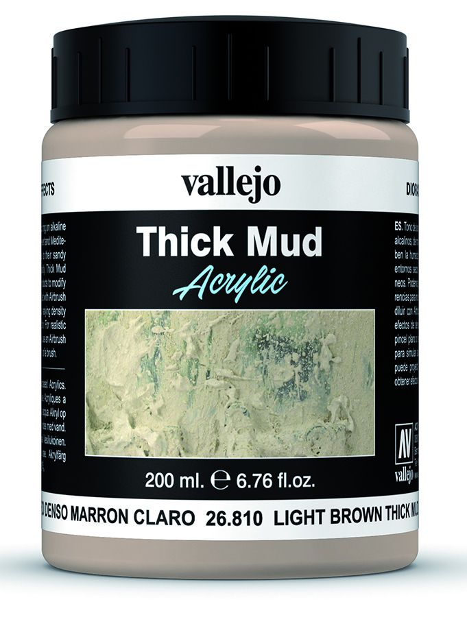 Light Brown Mud Weathering Effect Vallejo 26810
