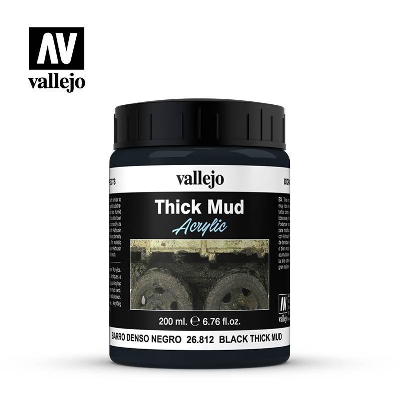 Black Mud Weathering Effect Vallejo 26812