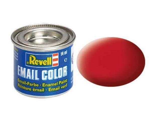 Carmine red matt makett festék Revell 32136