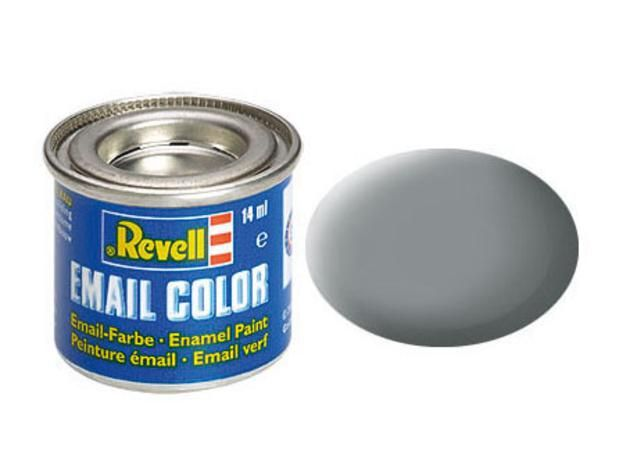 Grey matt  USAFmakett festék Revell 32143