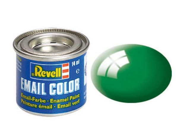 Emerald green gloss makett festék Revell 32161