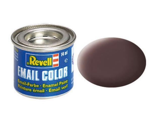Leather brown matt makett festék Revell 32184