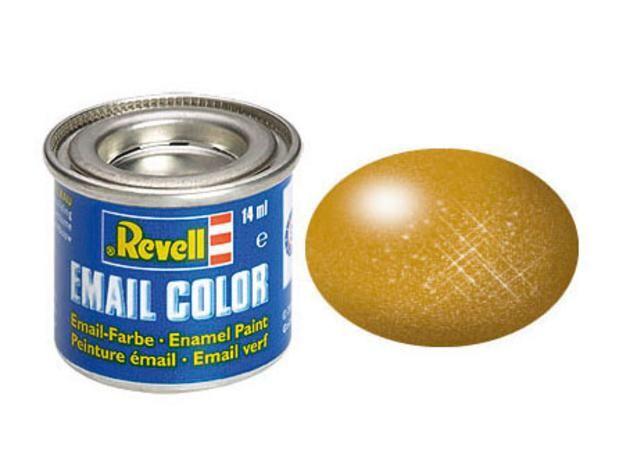Brass metallic makett festék Revell 32192