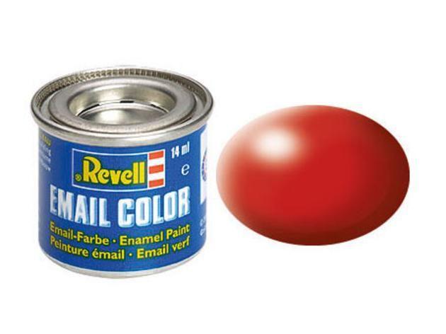 Fiery red silk makett festék Revell 32330