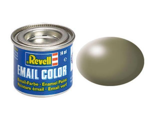 Greyish green silk makett festék Revell32362
