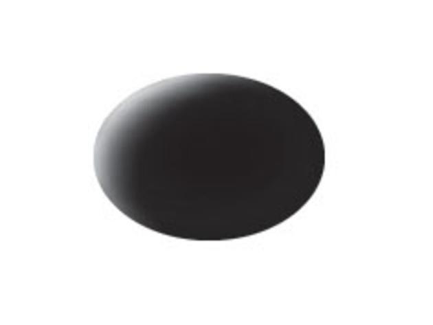 Aqua black matt makett festék Revell 36108
