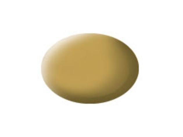 Aqua sandy yellow matt makett festék Revell 36116
