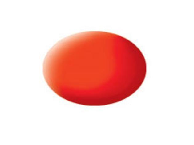 Aqua luminous orange matt makett festék Revell 36125