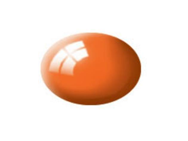 Aqua orange gloss makett festék Revell 36130