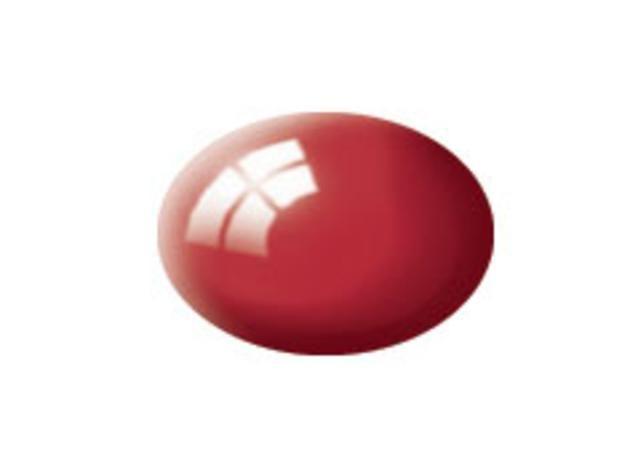 Aqua Ferrari red gloss makett festék Revell 36134