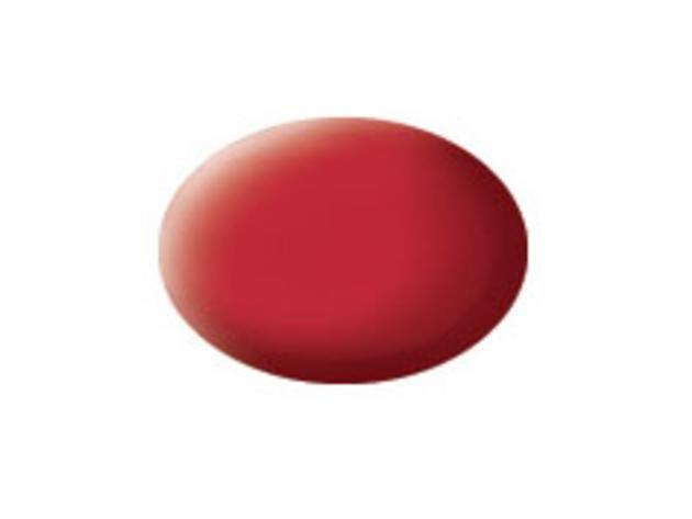Aqua carmine red matt makett festék Revell 36136