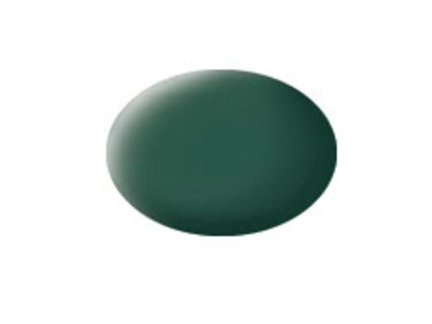 Aqua dark green matt makett festék Revell 36139