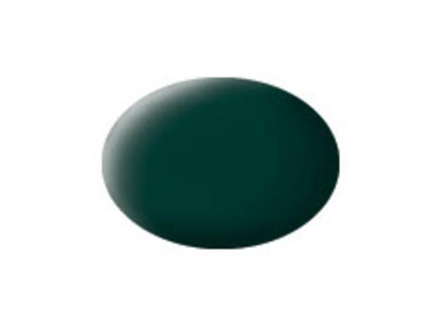 Aqua black-green matt makett festék Revell 36140