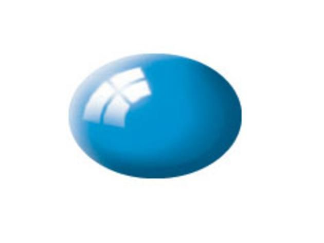 Aqua light blue gloss makett festék Revell 36150