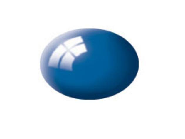 Aqua blue gloss makett festék Revell 36152