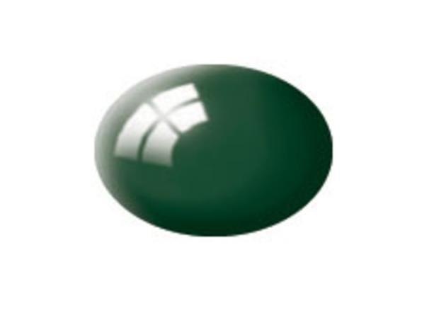 Aqua sea green gloss makett festék Revell 36162